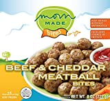 Mom Made Meatballs - Beef & Cheddar Meatballs, Antibiotic-free, Healthy frozen meals made in the...