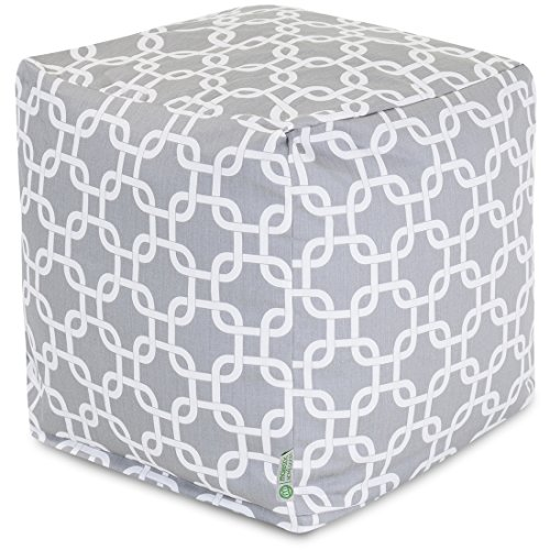 Majestic Home Goods 85907220164 Links Cube, Small, Gray