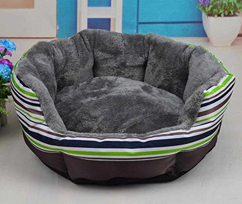 FidgetGear Dog Bed Kennel Large Medium Small Cat Pet Puppy Bed House Soft Warm Cushion Mat L