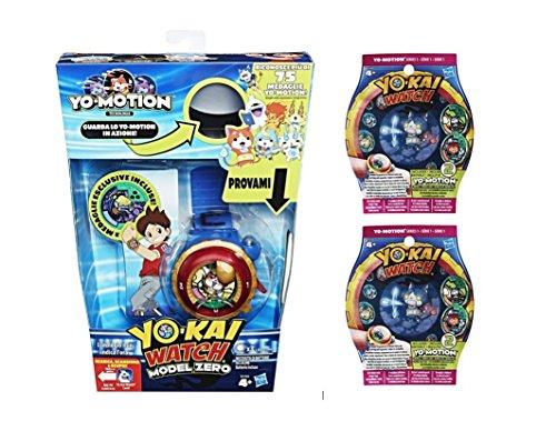 Yokai - Reloj modelo Zero + 4 medallas Yo-Motion Serie 1