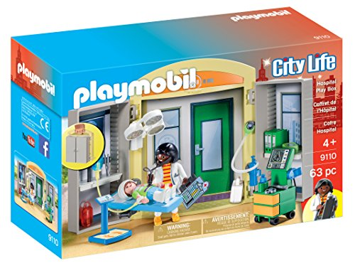 PLAYMOBIL 9110 Krankenhaus Mitnehmbox - City Life