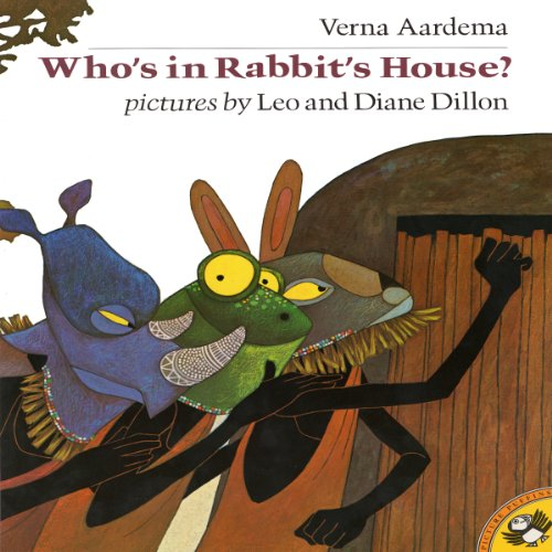 Who's in Rabbit's House?  audiobook cover art