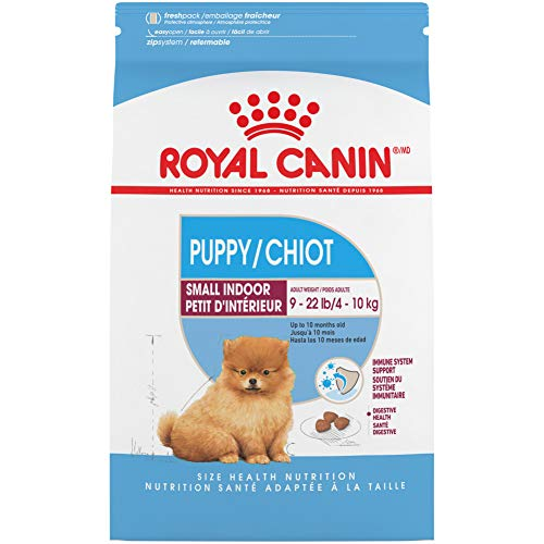 Royal Canin Indoor Small Puppy Dry Dog Food, 2.5 Pounds