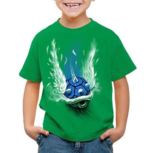 style3 Blauer Panzer T-Shirt für...