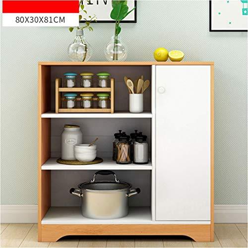 Keuken dressoir kast huishouden moderne eenvoud thee kast economische bouw kast eenvoudige kast multifunctioneel open opslag XMJ