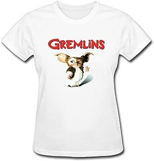 VEBLEN Women's Gremlins Design Cotton T Shirt
