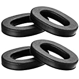 PROHEAR 2-Pair Replacement Foam Ear Pads for 3M WorkTunes Connect + ZOHAN EM042 Radio Hearing Protector Headphones