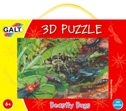 Galt Toys 3D-Puzzle Beastly Bugs