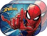Marvel Spiderman Sunshade Par de parasoles Laterales para Coche Spiderman Hombre araña niño