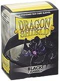 Dragon Shield Bustine per Carte, Colore Nero...