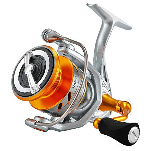 SeaKnight Rapid II Carretes de lanzado 10+1BB Anti-Corrosión Agua Salada Spinning Carrete de Agua Salada Pesca de Carpa de Agua Dulce Potencia Máximo 15kg/33lb
