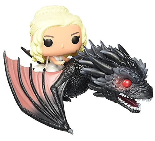 ZOXI Game of Thrones Pop 11.4 Centimetres Vinyl - Daenerys and Drogon Figure