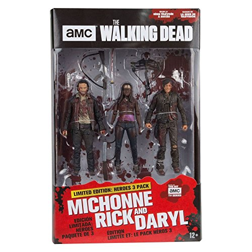 Unbekannt The Walking Dead Actionfiguren Rick, Michonne, Daryl