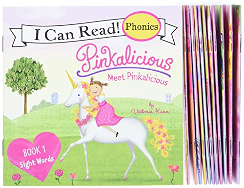 Pinkalicious 12-Book Phonics Fun!: Includes 12 Mini-Books Featuring Short and Long Vowel Sounds (My First I Can Read)