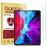 OMOTON [2 Pack] Screen Protector Compatible with iPad Pro 12.9 2021/ 2020/ 2018 [Compatible with Face ID &...