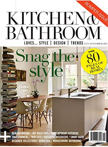 KITCHEN AND BATHROOM: LOVES... STYLE  DESIGN   TRENDS (English Edition)