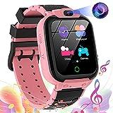 Vannico Smartwatch para Niños Game Watch - Video 16 Juegos de Música Reloj Inteligente con Cámara 10 MP Pantalla Táctil para Niños Niñas Regalo