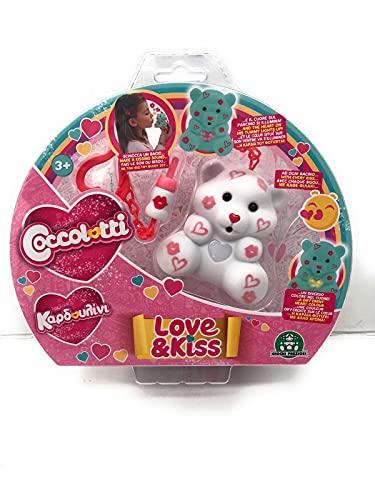 Toy Nuovi COCCOLOTTI Love E Kiss BEARABLE Bears Modello Fancy Originale + Un Omaggio [ Come Foto ]