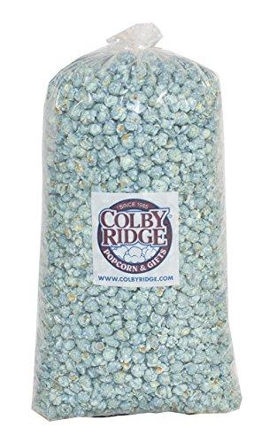 Great Price! Baby Blue Popped Popcorn 91 oz (Bulk 5 gal 80 cups)