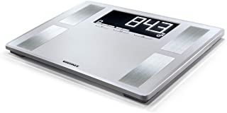 Soehnle Shape Sense Profi 200 Bathroom Scale, digital scale for body analysis and BMI, weighs up to 180 kg, electronic sca...