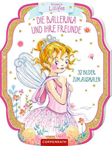 Prinzessin Lillifee: Die Ballerina und ihre Freunde: 32 Bilder zum Ausmalen