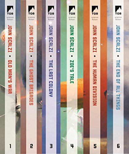 Old Man's War Series: (Old Man's War, The Ghost Brigades, The Last Colony, Zoe's Tale, The Human Division, The End of All Things)