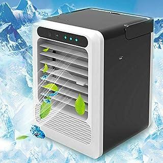 Mini acondicionador de aire móvil, ventilador de enfriamiento por evaporación, acondicionador de aire, humidificador, enfriador de aire, ventilador de escritorio, enfriamiento con mango portátil