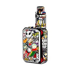 This is Only a Skin Kit for your Smok G-Priv 220W Mod and does not include the device itself Gloss Laminated for added protection. Protects against minor scratching Printed on high quality removable vinyl in super rich colors Will not leave a sticky ...