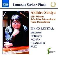 SAKIYA, AKIHIRO/ PIANO RECITAL:2014 WINNER