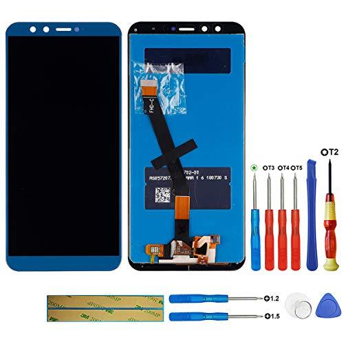 Swark - Pantalla LCD compatible con Huawei Honor 9 Lite LLD-AL00, LLD-AL10, LLD-TL10, LLD-L31, color azul