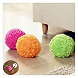 Kanzd Automatic Rolling Ball Electric Cleaner Mocoro Mini Sweeping Robot (Multicolor)