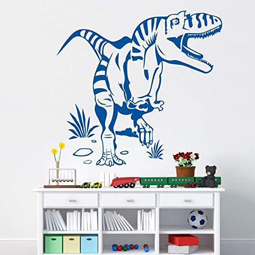 Quszpm 3D dinosaur wall stickers self-adhesive art wallpaper for kids room decoration for kids room home decoration 43cm X 45cm