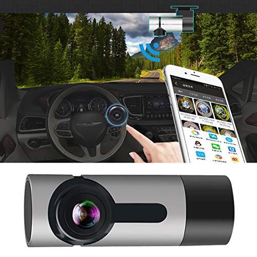 GALIMAXIA G6 170 Grados Gran Angular HD 1080P vídeo DVR del Coche, Tarjeta del TF/WiFi grabación de Bucle /, con función de luz de Las Estrellas de visión Nocturna Adecuado para Muchos vehículos