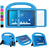 TIRIN Walmart Onn 8 Inch Tablet Case, Onn 8 Tablet Case for Kids, Built-in Screen Protector Lightweight Shockproof Handle Stand Kids Case for Walmart Onn 8' Android Tablet 2019 Model ONA19TB002, Blue