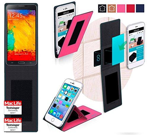 Hülle für Samsung Galaxy Note 3 Neo LTE Plus Tasche Cover Hülle Bumper | Pink | Testsieger