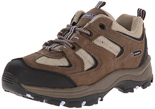 Nevados Women's Boomerang II Low Hiking Shoe-W, Chocolate Chip/Stone/Lavender, 9 M US