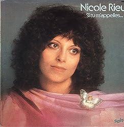 Nicole Rieu - Si Tu M\'Appelles... - Barclay - 80279 Near Mint (NM or M-)/Near Mint (NM or M-) LP, Album
