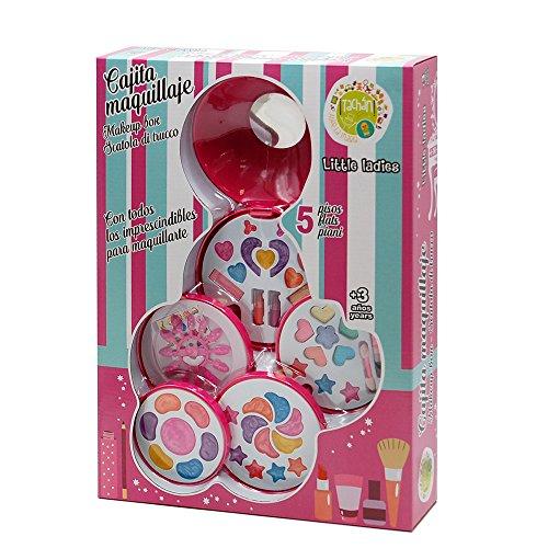 Tachan- Estuche de Maquillaje 5 Pisos Cajita (CPA Toy Group Trading S.L....