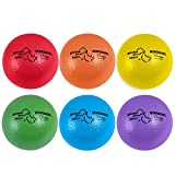 Champion Sports BAS6SET Rhino Skin Basic Dodgeball Set, 6 Inch