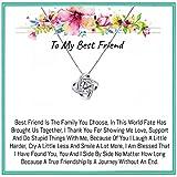 Onepurposegifts Best Friend Gift set, Best friend Necklace, best friend necklaces, Best friend Gifts, Best Friend birthday, Best Friend Gift (New Zicorn)