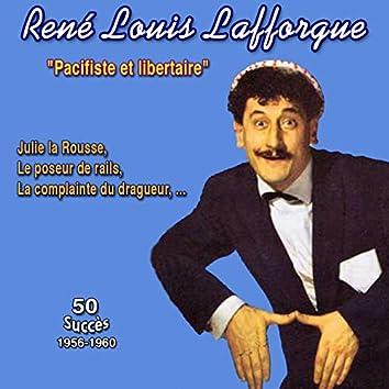 """""""Pacifiste et libertaire"""" Julie la rousse (50 succès (1956-1960))"""