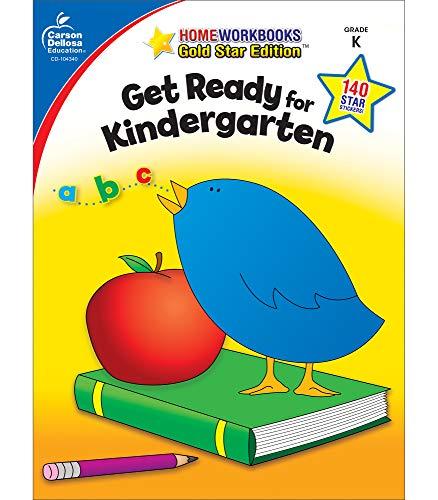 Get Ready For Kindergarten Gold Star Edition Home Workbooks