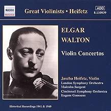 Elgar / Walton: Violin Concertos Great Violinists