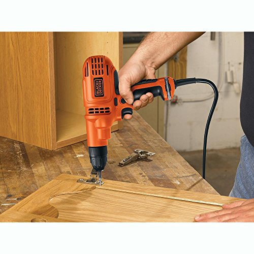 Product Image 4: BLACK+DECKER Corded Drill, 5.2-Amp, 3/8-Inch (DR260C)
