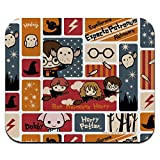Harry Potter Cute Chibi Pattern Low Profile Thin Mouse Pad Mousepad