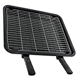 Image of SPARES2GO Extra Large Grill Pan Rack & Dual Detachable Handles for Neff Oven Cookers