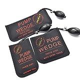bonakula goma Auto Entry Airbag Potente Bomba de mano Locksmith Tools hinchable, diseño de herramienta de alineación de cuña de aire de abridor de la puerta de coche cuña