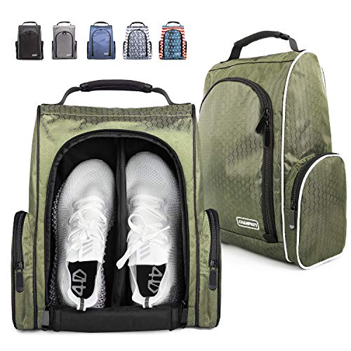 Champkey Bolsa para Zapatos de Golf, con Cremallera, con
