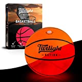LED Light Up Basketball with 2 Bright Inner Lights| Glow in the Dark