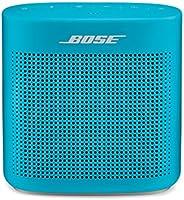 Bose SoundLink Color II: Portable Bluetooth, Wireless Speaker with Microphone- Aqua Blue